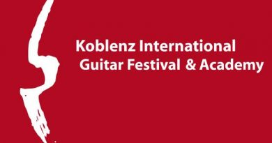 KOBLENZ INTERNATIONAL GUITAR COMPETITION HUBERT KÄPPEL 2020
