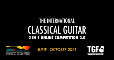 Tampere Guitar Festival & Competition (On Line)